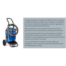 DONALDSON X770816 CARRELLO FILTRANTE GASOLIO